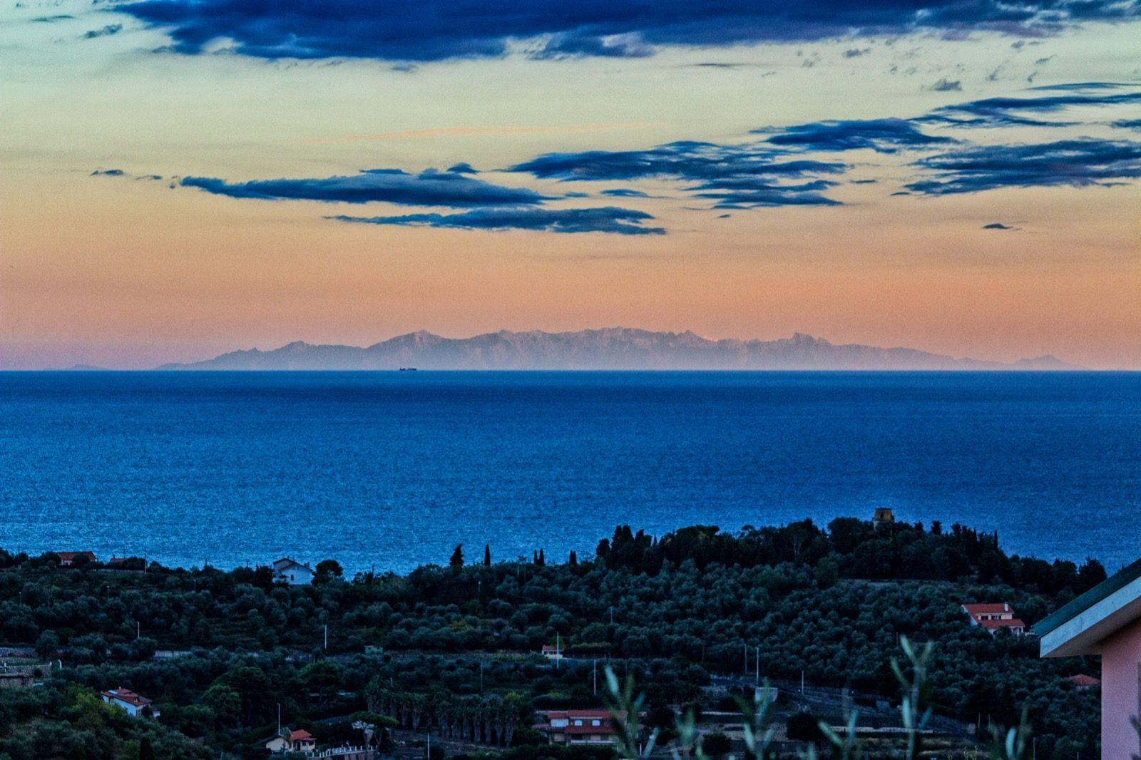 Panorama della Corsica